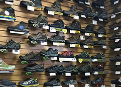 Outdoor clothing and equipment shop in Lynchburg, Virginia, hiking shoes, hiking, jackets